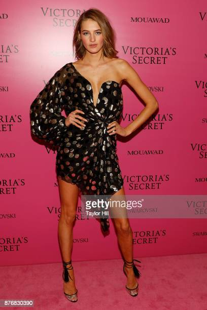 Sanne Vloet attends the 2017 Victoria's Secret Fashion Show After Party on November 20 2017 in Shanghai China