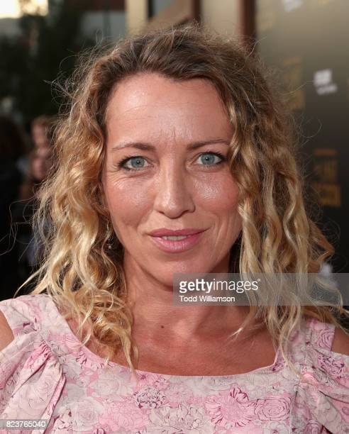 Sanny van Heteren at the Amazon Prime Video premiere of the original drama series 'The Last Tycoon' at Harmony Gold Theatre on July 27 2017 in Los...