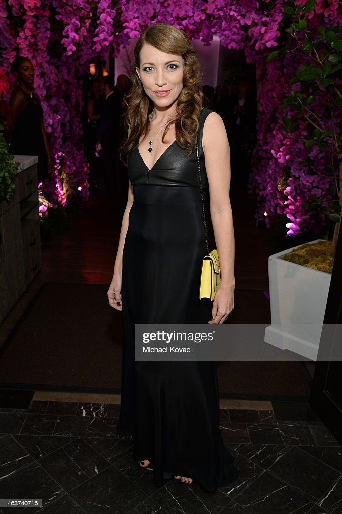 Sanny Van Heteren attends BVLGARI and Save The Children STOP. THINK. GIVE. Pre-Oscar Event at Spago on February 17, 2015 in Beverly Hills, California.