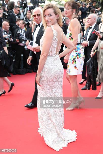 Sanny van Heteren attends the 70th Anniversary of the 70th annual Cannes Film Festival at Palais des Festivals on May 23 2017 in Cannes France