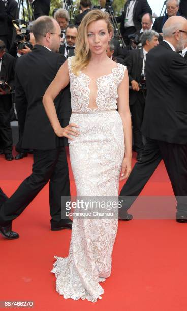 Sanny van Heteren attends the 70th Anniversary screening during the 70th annual Cannes Film Festival at Palais des Festivals on May 23 2017 in Cannes...