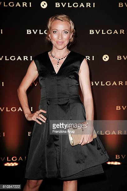 Sanny van Heteren attends the Bulgari Night Of The Icons on February 14 2016 in Berlin Germany