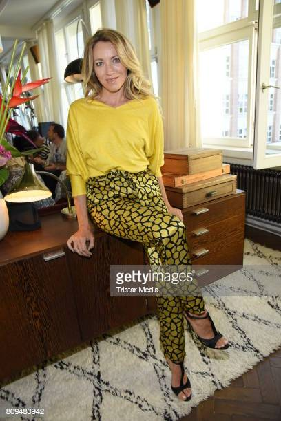 Sanny van Heteren attends the Klambt Fashion Cocktail in Berlin at Soho House on July 5 2017 in Berlin Germany