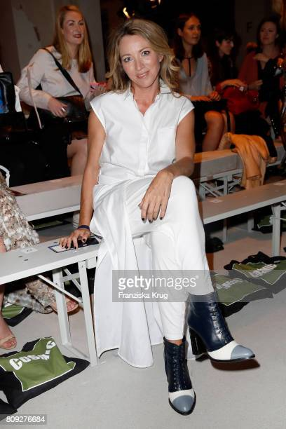 Sanny van Heteren attends the Rebekka Ruetz show during the MercedesBenz Fashion Week Berlin Spring/Summer 2018 at Kaufhaus Jandorf on July 5 2017 in...