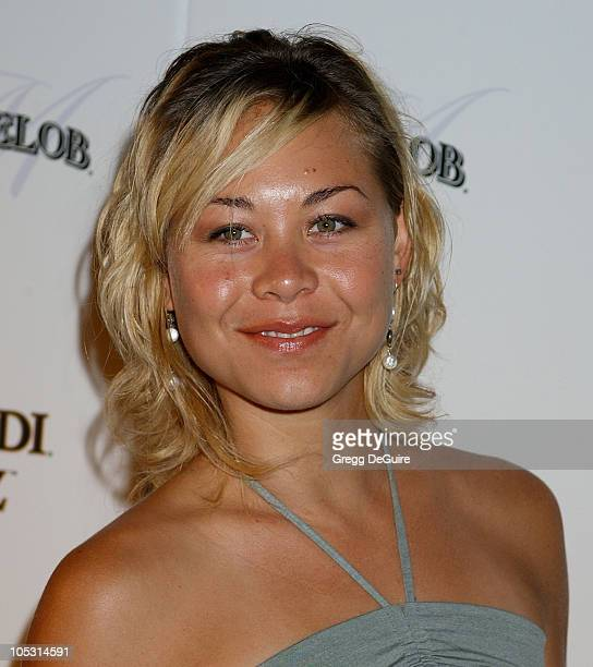 """Sanoe Lake during Premiere Magazine's """"The New Power"""" - Arrivals at Forbidden City in Hollywood, California, United States."""
