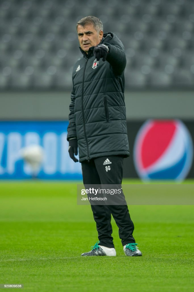 Besiktas Training And Press Conference