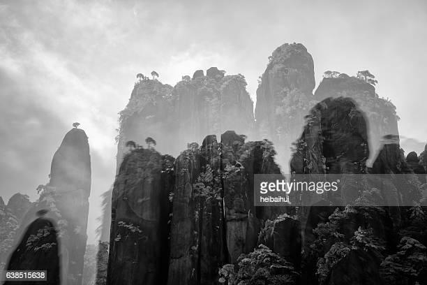 Sanqingshan scenery,Jiangxi Province,China
