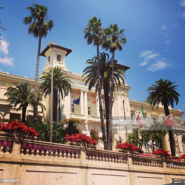 sanremo municipal casino - san remo italy stock pictures, royalty-free photos & images