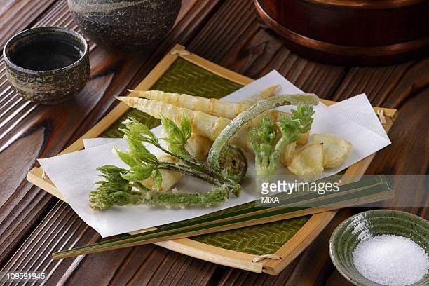 sansai-tempura - 天ぷら ストックフォトと画像