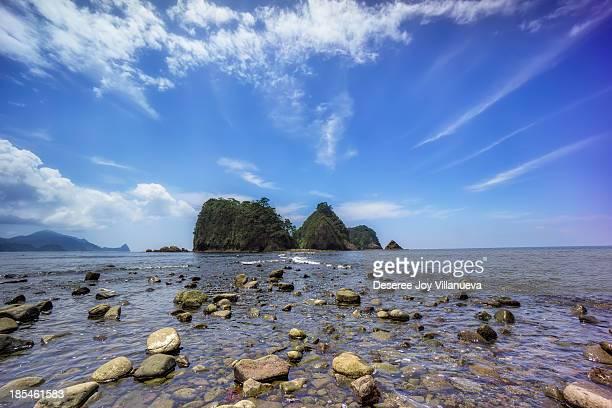 Sanshiro Island of Izu Japan on a Summer
