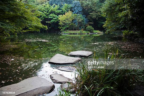 Sanshiro Pond lies in the heart of Tokyo University campus dating back to 1615 After the fall of the Osaka Castle the shogun gave this pond and its...