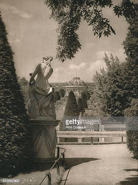 Sanssouci' 1931 From Deutschland by Kurt Hielscher [F A Brockhaus Leipzig 1931] Artist Kurt Hielscher