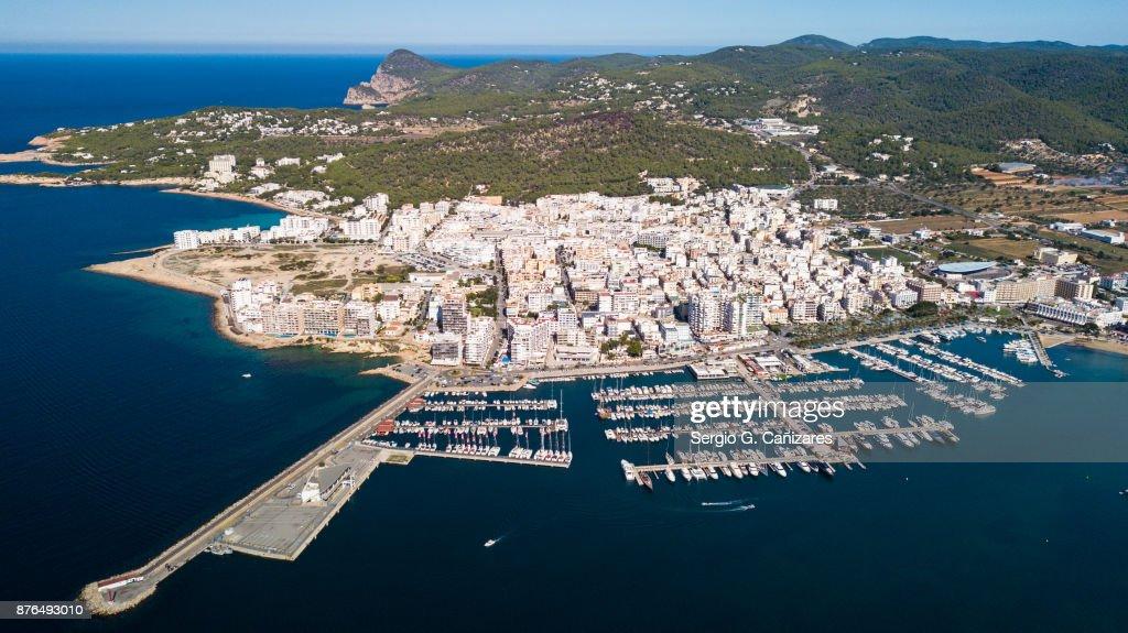 Sant Antoni de Portmany, Ibiza, España : Foto de stock