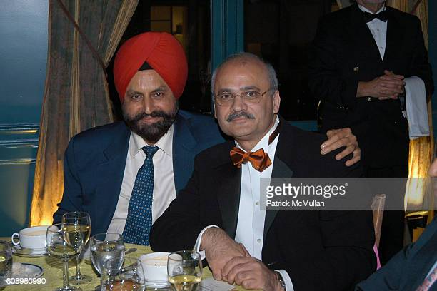 Sant Chatwall and Bharat Bhise attend 3rd ANNUAL SANSKRITI BENEFIT at New York Racquet Tennis Club on May 24 2007 in New York City