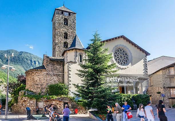Sant Esteve Church Andorra La Vella