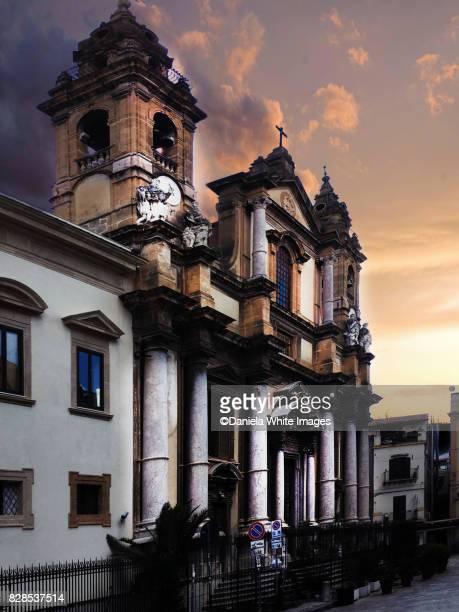 Sant Ignazio in Palermo, Sicily, Italy