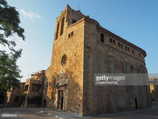 Sant Pere Church in the village of Pals in Catalonia, Spain