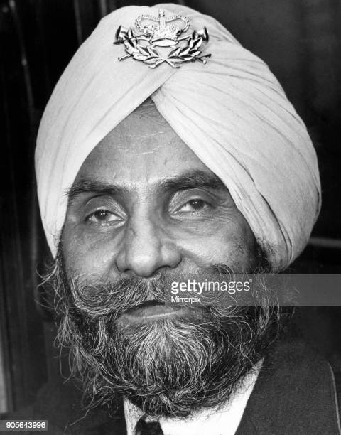 Sant Singh Shattar Royal Mail Postal Worker pictured 6th October 1960 He is Birmingham's first postman allowed to wear a Turban as part of his...