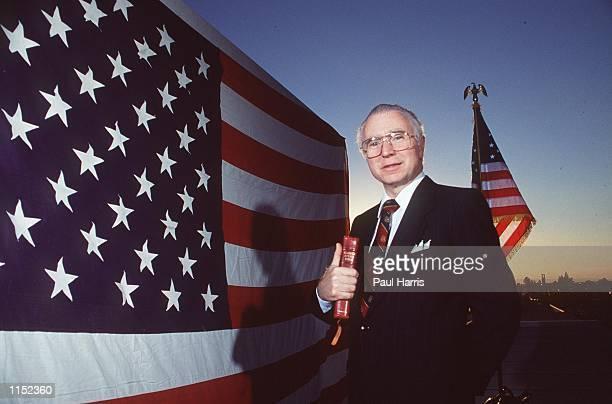Santa Ana, CA. Reverend Lou Sheldon, a right wing extremist preacher. Photo by Paul Harris/Online USA, Inc.
