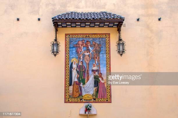 santa ana church - jerez de la frontera fotografías e imágenes de stock