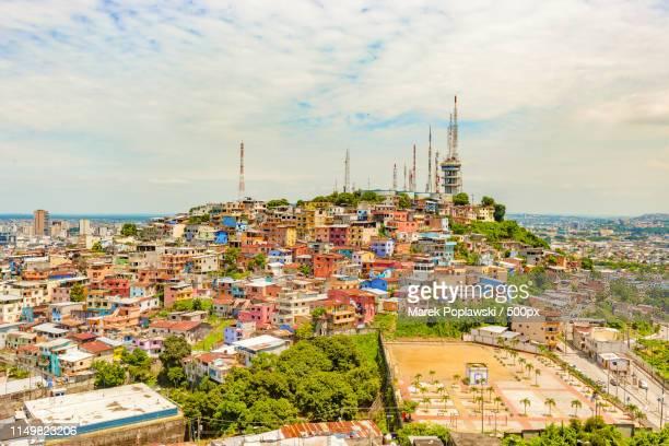 santa ana hill in guayaquil, ecuador - guayaquil fotografías e imágenes de stock