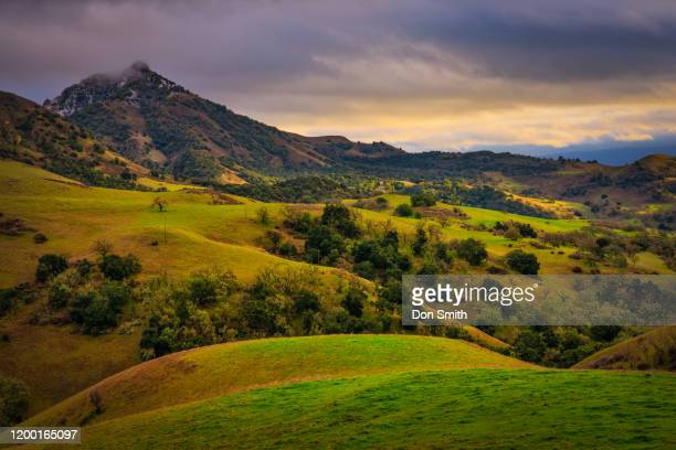santa ana peak and hills - don smith stock pictures, royalty-free photos & images