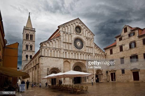 Santa Anastasia Cathedral in Zadar Croatia April 2009