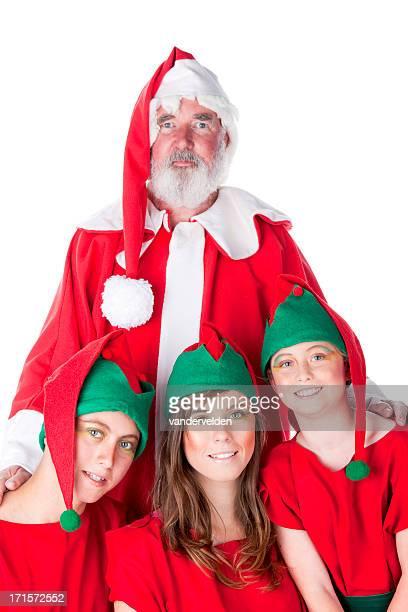 santa and elf helpers - Christmas Elf Makeup
