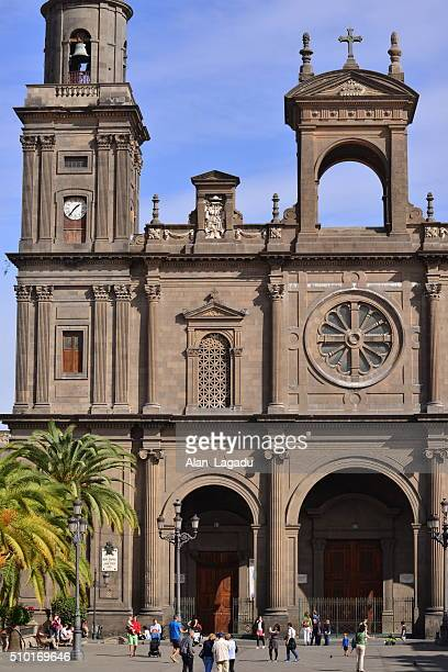 santa anna cathedral, gran canaria, spain. - las palmas cathedral stock pictures, royalty-free photos & images
