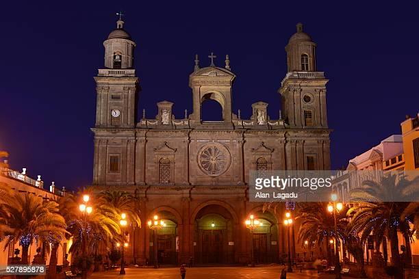 santa anna cathedral, las palmas, gran canaria, spain. - las palmas cathedral stock pictures, royalty-free photos & images