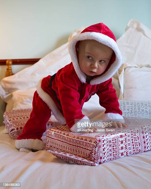 santa baby - s0ulsurfing stock pictures, royalty-free photos & images
