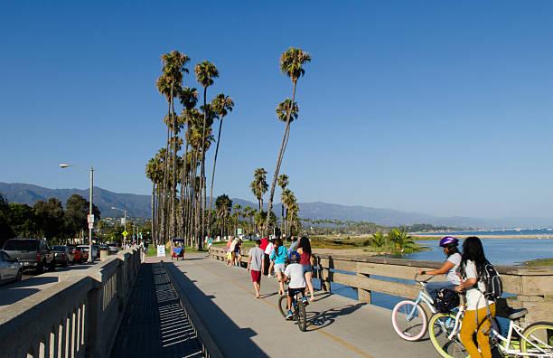 Santa Barbara Waterfront And Beaches Pier