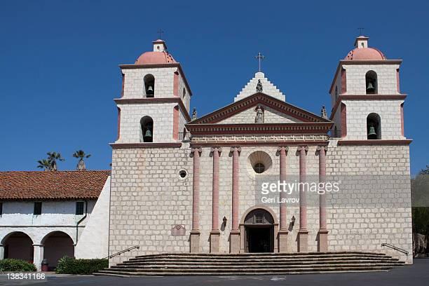 santa barbara, california mission - mission santa barbara stock pictures, royalty-free photos & images