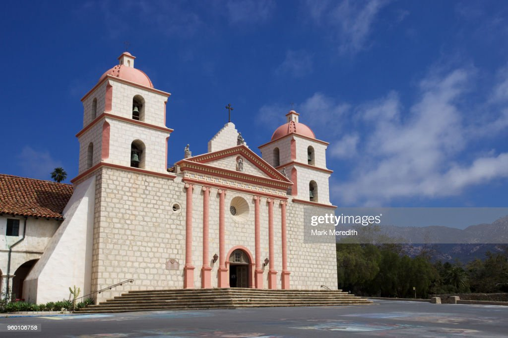 Santa Barbara Mission : Stock-Foto