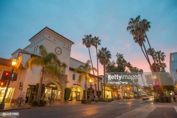 santa barbara - santa barbara california fotografías e imágenes de stock