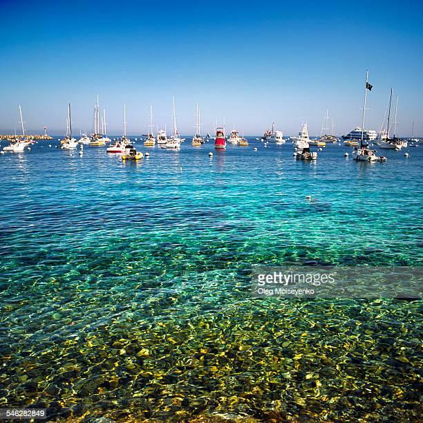 Santa Catalina Island marina bay