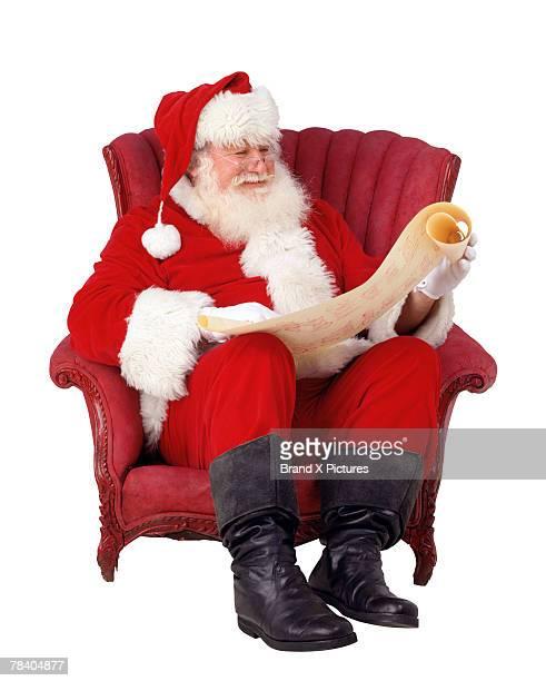 Santa checking his list twice