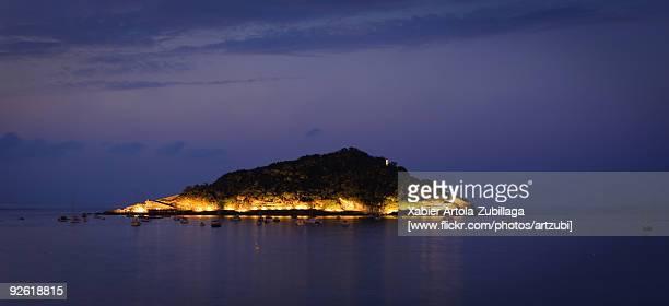 Santa Clara Island at night