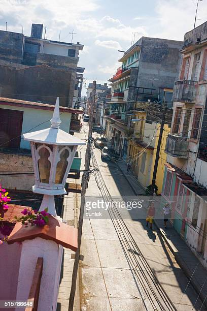 santa clara street life, cuba - santa clara cuba stock pictures, royalty-free photos & images