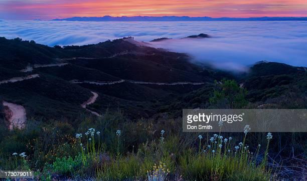 santa clara valley dawn - don smith foto e immagini stock