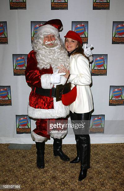 Santa Claus and Bobbie Eakes