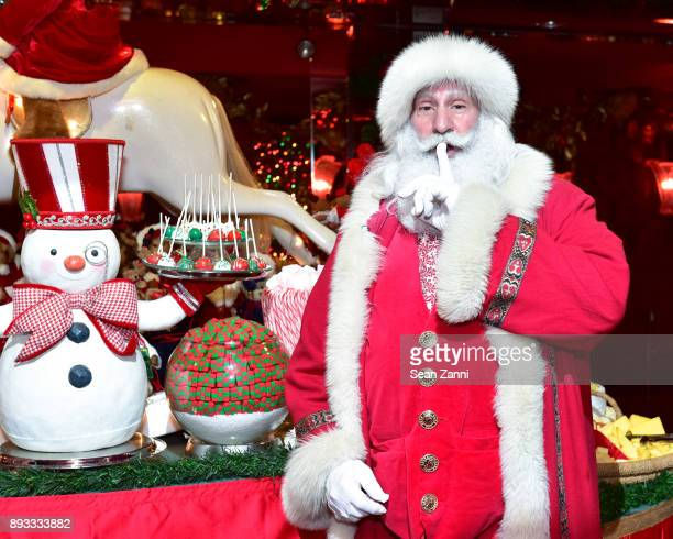 Santa Claus attends A Christmas Cheer Holiday Party 2017 Hosted by George Farias and Anne and Jay McInerney at The Doubles Club on December 14 2017...