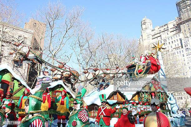 Santa Claus attends the 87th Annual Macy's Thanksgiving Day Parade on November 28 2013 in New York City
