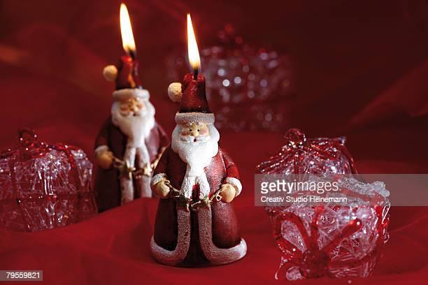 Santa Claus candles