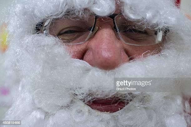 Santa Claus face Christmas