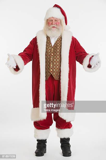 Santa Claus in long robe