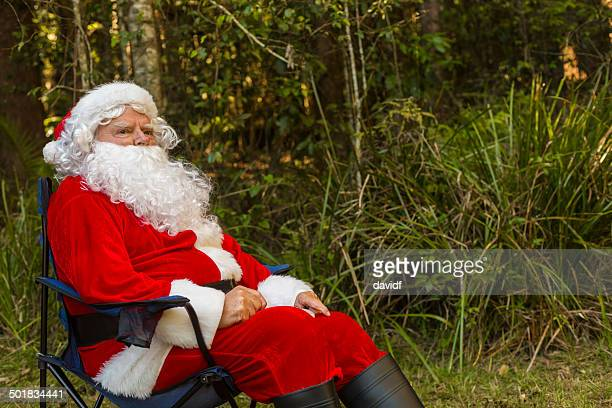 Santa Claus in the Australian Bush