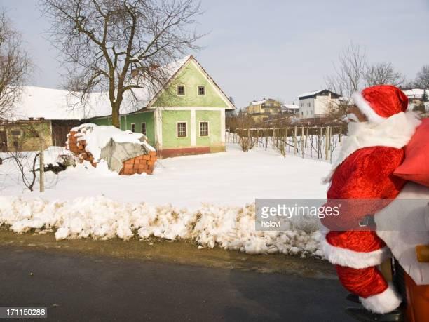 サンタクロースが comming