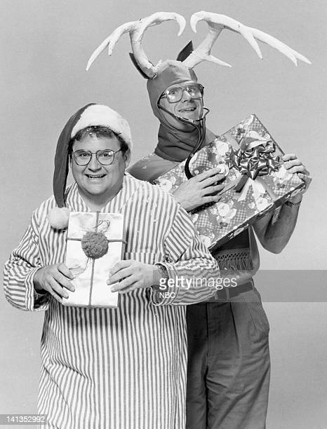 """Santa Claus is Dead"""" Episode 11 -- Pictured: Stephen Furst as Dr. Elliot Axelrod, Ed Begley Jr. As Dr. Victor Ehrlich -- Photo by: Gary Null/NBCU..."""