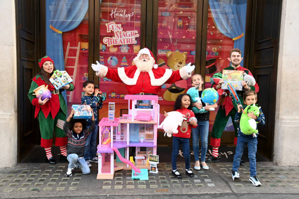 GBR: Hamley's Unveil Top 10 Toys for Christmas 2021 - Launch Event